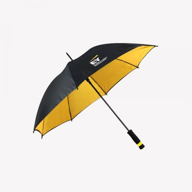 Umbrella - Black/Yellow