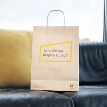 "Paper Bag - ""Who Did You Inspire Today?"""