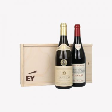 Fleurie Le Mouriers Jacky Piret (RED) + Pouilly Fume Dominique Fabrio (WHITE)