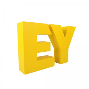 EY Custom made 3D letters XL and medium