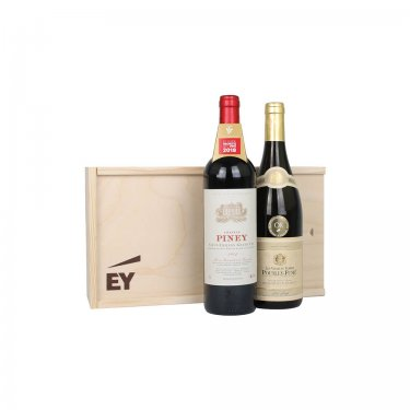 Saint Emillion Grand Cru Chateau Piney (RED) + Pouilly Fume Dominique Fabio (WHITE)