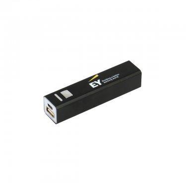 Powerbank black - 2200 mAh