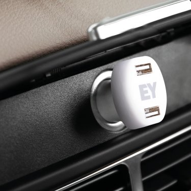 Double USB car charger
